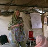 2006 Balakot, Pakistan post Earthquake, teaching teachers, psychologists and community workers how to resolve their own trauma and help their own communities
